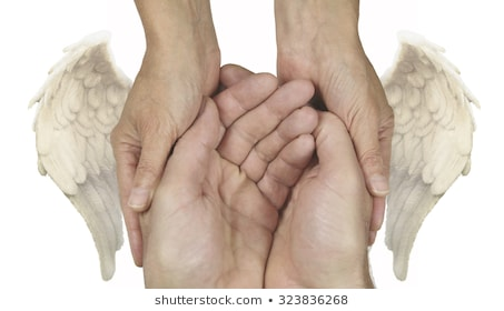 symbolic-helping-hands-angel-wings-260nw-323836268